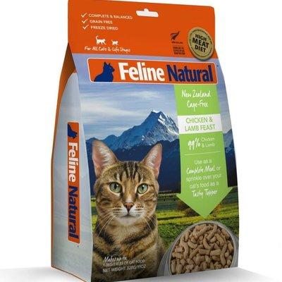 K9 Natural Feline Natural Chicken and Lamb Feast  11oz