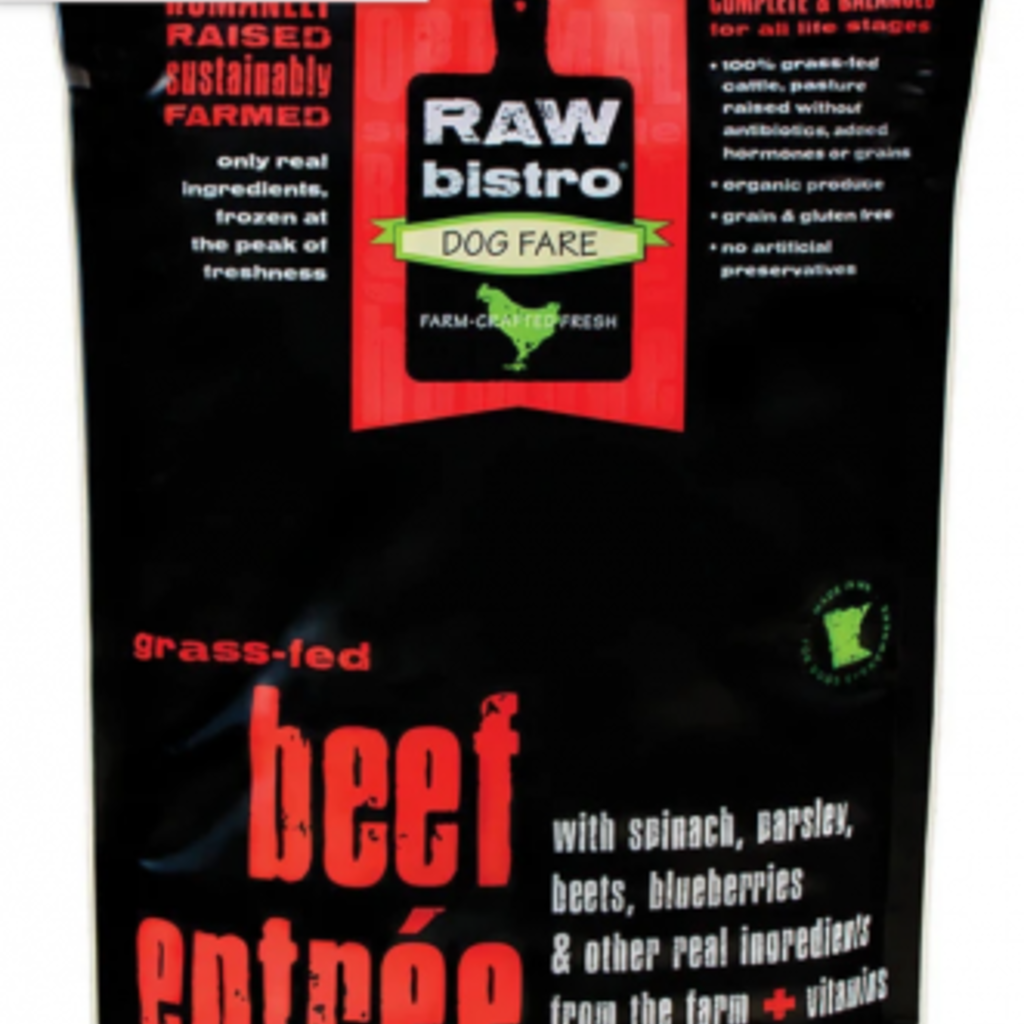Raw Bistro Frozen Raw Bistro Beef Entree Small 3lb
