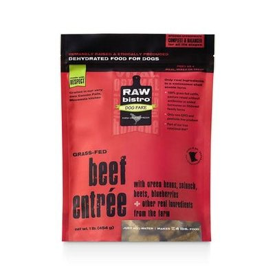 Raw Bistro Raw Bistro Beef Entree Dehydrated 1lb