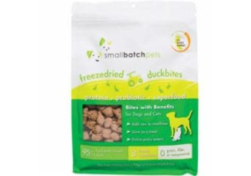 Small Batch Small Batch Dog Cat Freeze-Dried Small Bites Duck 7oz