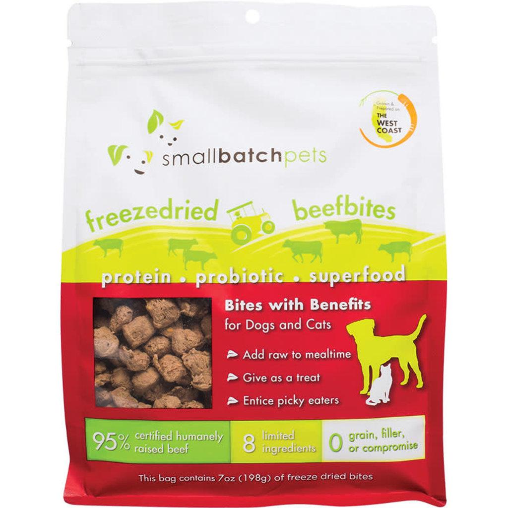 Small Batch Small Batch Dog Cat Freeze-Dried Small Bites Beef 7oz