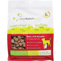 Small Batch Dog Cat Freeze-Dried Small Bites Beef 7oz