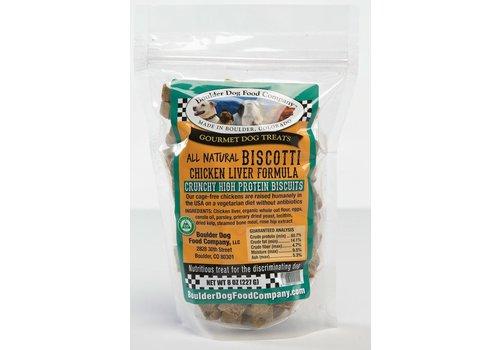 Boulder Dog Food Company Chicken Liver Biscotti 8oz