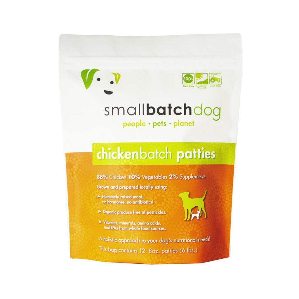 Small Batch Frozen Small Batch Chicken Patties 6#