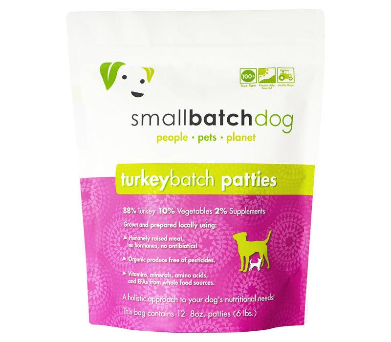 Frozen Small Batch Turkey Patties 6#