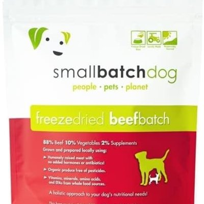 Small Batch Small Batch Dog Freeze Dried Beef 14oz
