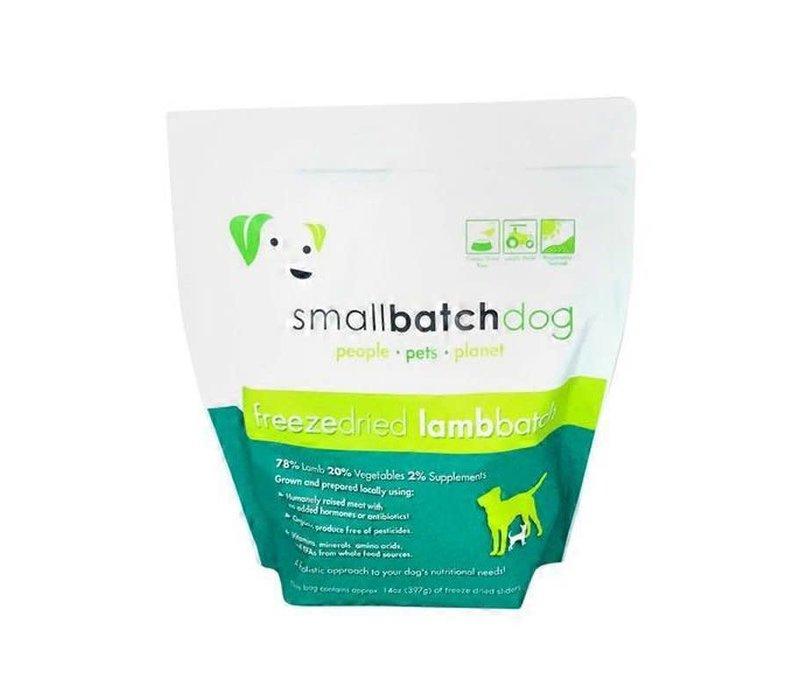 Small Batch Freeze Dried Lamb 14oz