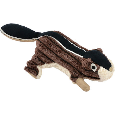 Tall Tails Tall Tails Dog Plush Squeaker Chipmunk Brown 5 inches