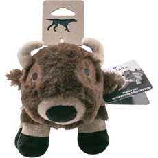 Tall Tails Dog Plush Squeaker Buffalo 9 inches