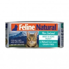 K9 Natural Feline Natural Grain Free Beef and Hoki Feast Canned Cat food 3oz