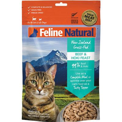 K9 Natural Feline Natural Beef Hoki 11oz