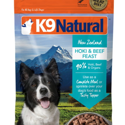 K9 Natural K9 Natural Freeze Dried Hoki Beef 4lbs