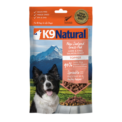 K9 Natural K9 Natural Freeze Dried Topper Lamb Salmon 3.5oz