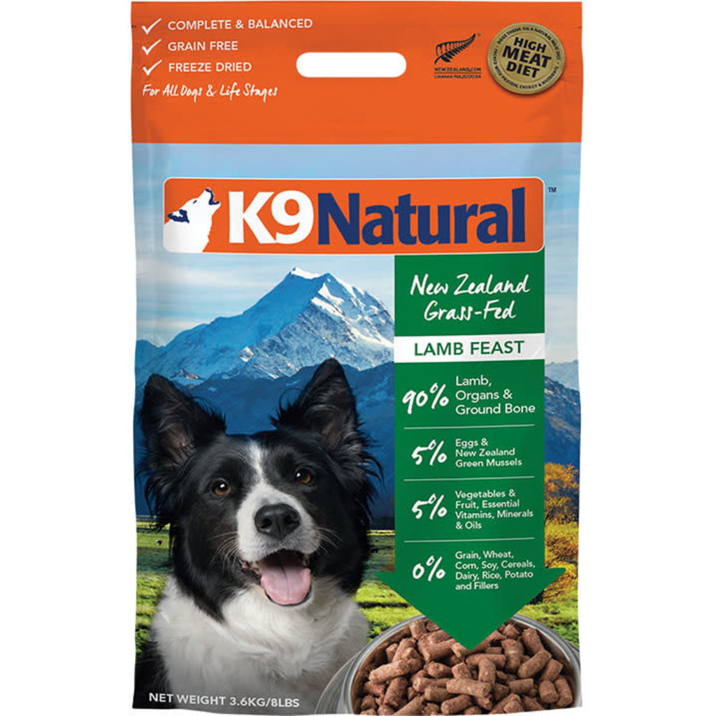 K9 Natural K9 Natural Freeze Dried Lamb Feast 8lbs