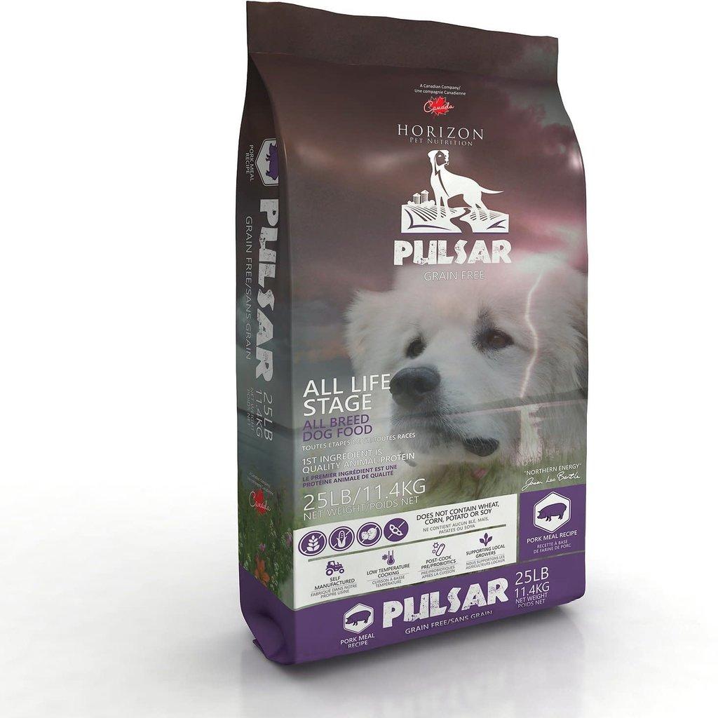 Horizon's Pulsar Horizon Pulsar Grain-Free Dog Food, 8.8-25lbs (Salmon, Turkey, Pork, Lamb & Chicken)