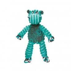Kong Kong Floppy Knots Hippo Dog Toy Green Medium/Large