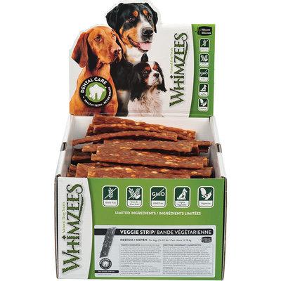 Whimzees Whimzees Dog Veggie Strip Medium