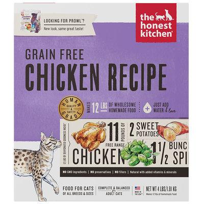 Honest Kitchen Cat Grain Free Chicken 4LB