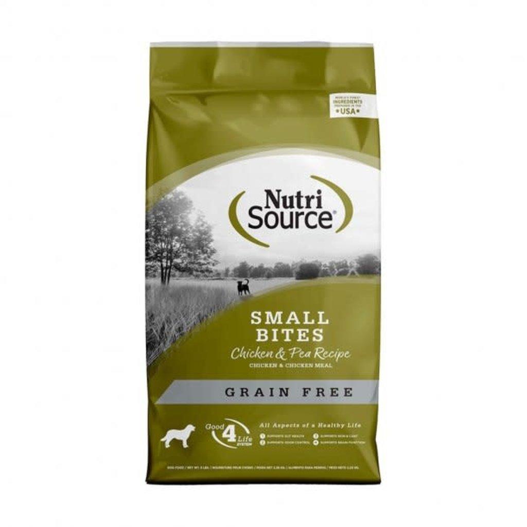 NutriSource NutriSource Grain Free Chicken Small Bites 5#