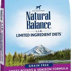Natural Balance Natural Balance NB Grain Free Sweet Potato & Venison 26lbs
