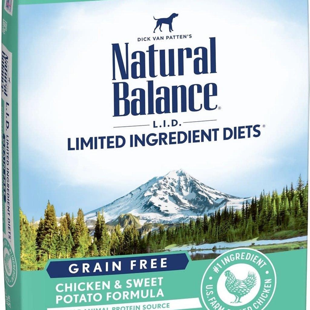 Natural Balance Natural Balance NB Grain Free Chicken Sweet Potato 24lbs