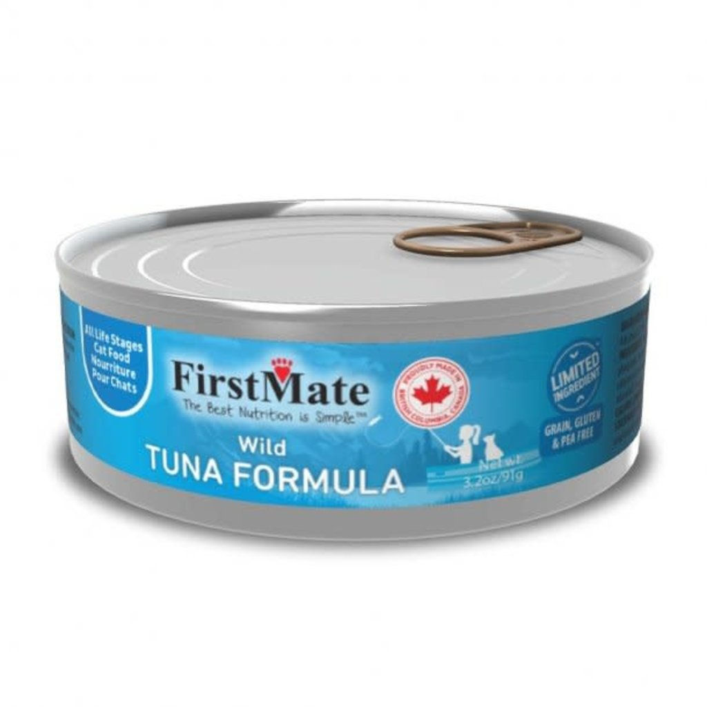 First Mate First Mate Limited Ingredient Diet Wild Tuna Can Cat Food 3.2 oz