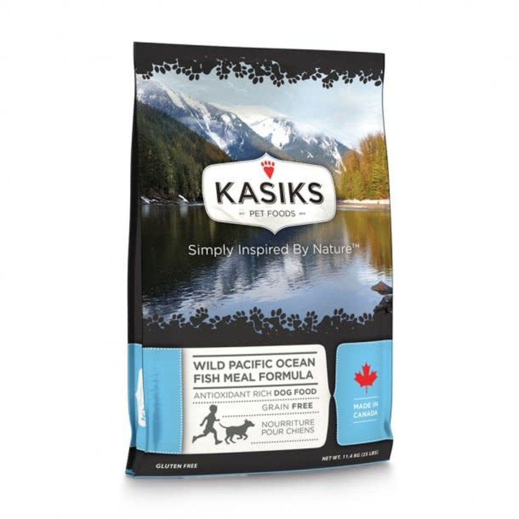 First Mate First Mate Kasiks Grain Free Wild Pacific Ocean Fish Meal Formula Dog Food 5 Lbs