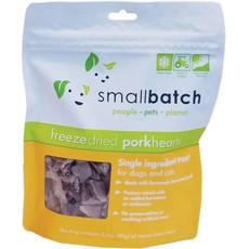 Small Batch Dog Cat Freeze Dried Pork Heart Treat 3.5oz