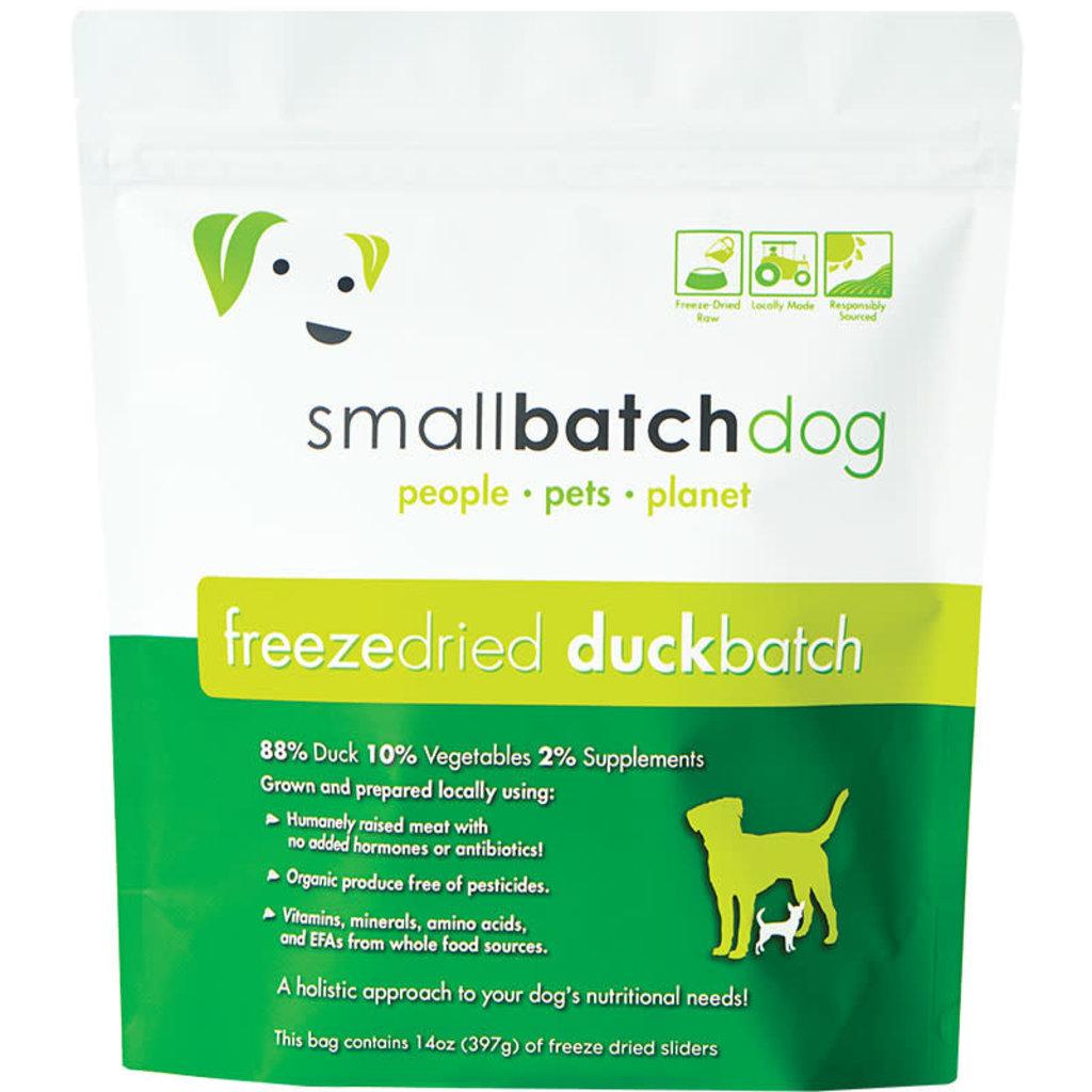 Small Batch Small Batch Dog Freeze Dried Duck Sliders 14oz