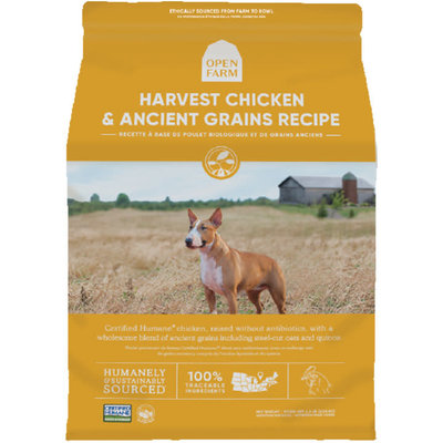 Open Farm Open Farm Ancient Grains Harvest Chicken 22lbs