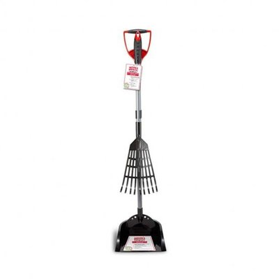 Nature's Miracle Nature's Miracle 2 in 1 Rake N Spade Waste Pick up Scoop with Pan for Dog 1.53lbs
