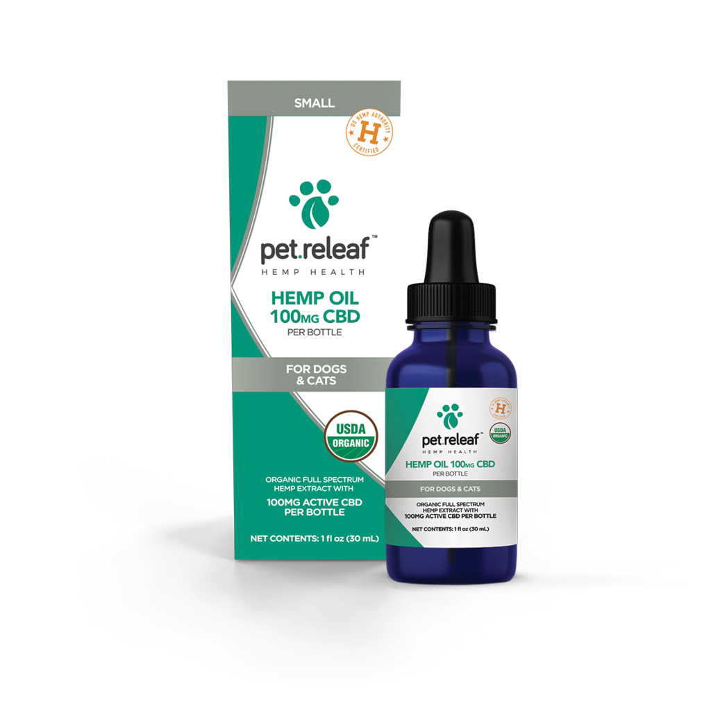 Pet Releaf Organic 100mg CBD Hemp Oil