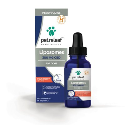 Pet Releaf Liposome Hemp Oil (300mg)