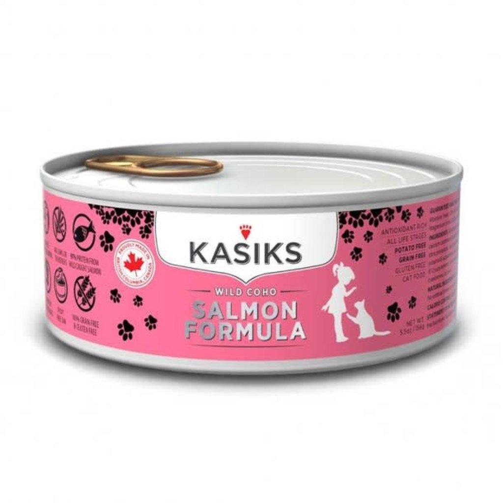 First Mate First Mate Kasiks Wild Coho Salmon Formula Cat Food 5.5oz