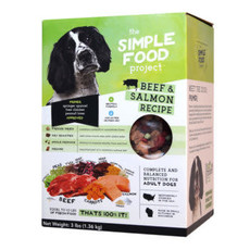 Simple Food Project Simple Food Project Dog Beef & Salmon 48oz 3lbs