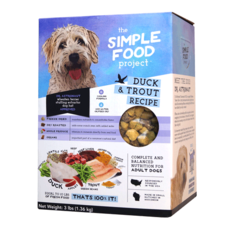 Simple Food Project Simple Food Project Dog Duck & Trout Recipe 48oz 3lbs