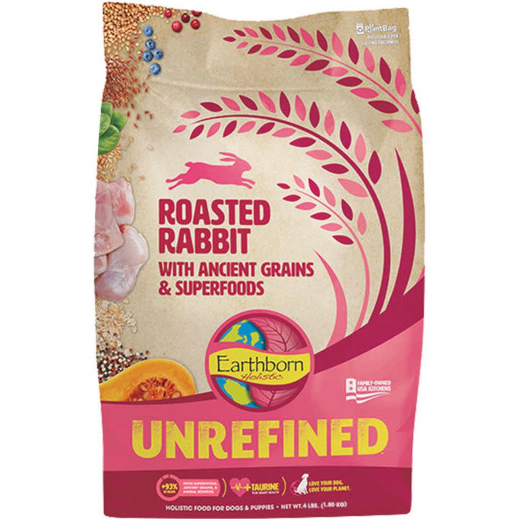 Earthborn Dog Unrefined Ancient Grains Rabbit 4lbs