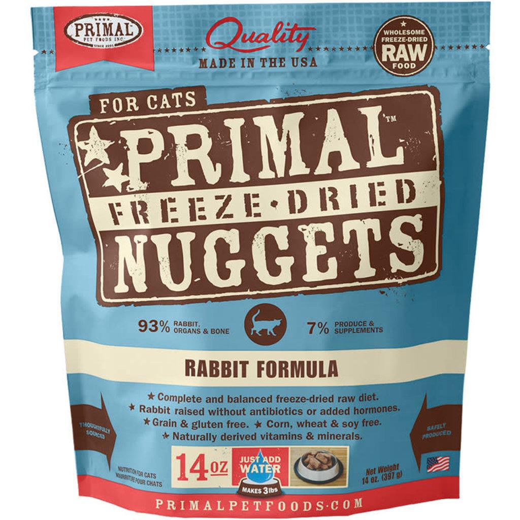 Primal Primal Cat Freeze Dried Rabbit Formula 14oz