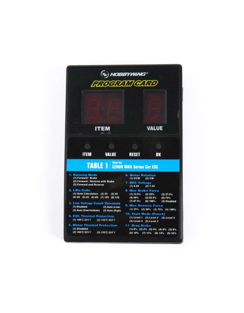 Hobbywing General LED Program Card