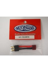 Ace Power Female Deans-Male Traxxas
