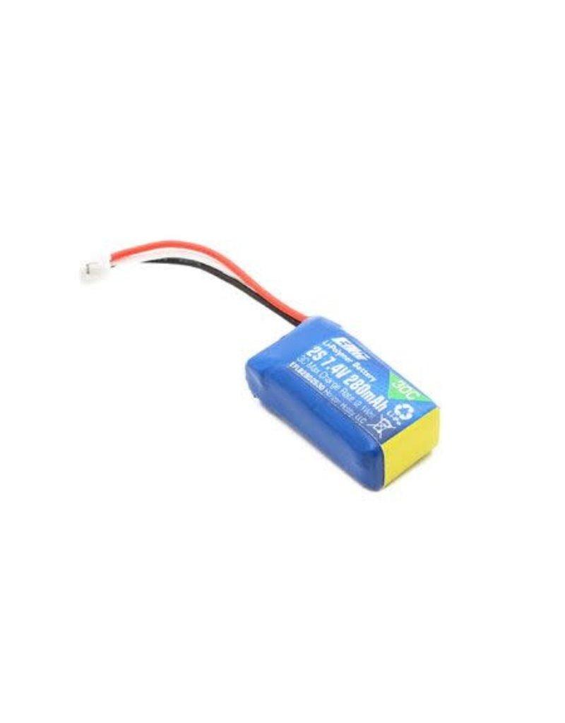 E-Flite E-Flite 280mAh 2S 7.4V 30C LiPo Battery