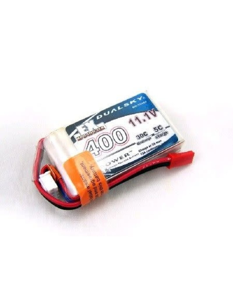 Dualsky Dualsky LiPo Battery EX 400mAH 3S 30C W/JST