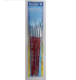 VP Leonhardy School/Hobby Brush Set (6)