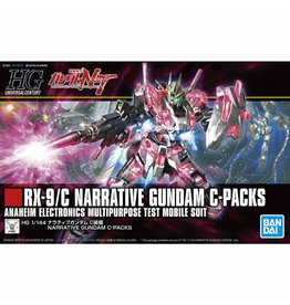 Bandai HGUC 1/144 NARRATIVE GUNDAM C-PACKS