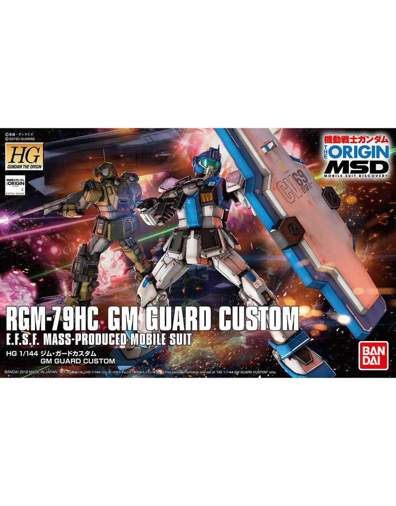 Bandai 1/144 HG GM Guard Custom
