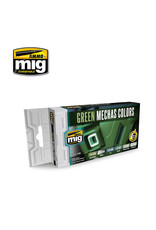 MIG Green Mechas Colours