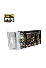 MIG Realistic Robots Colour Set
