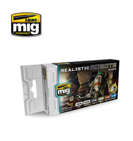 MIG MIG 7156 Realistic Robots Colour Set