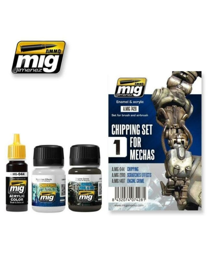 MIG Chipping Set for Mechas