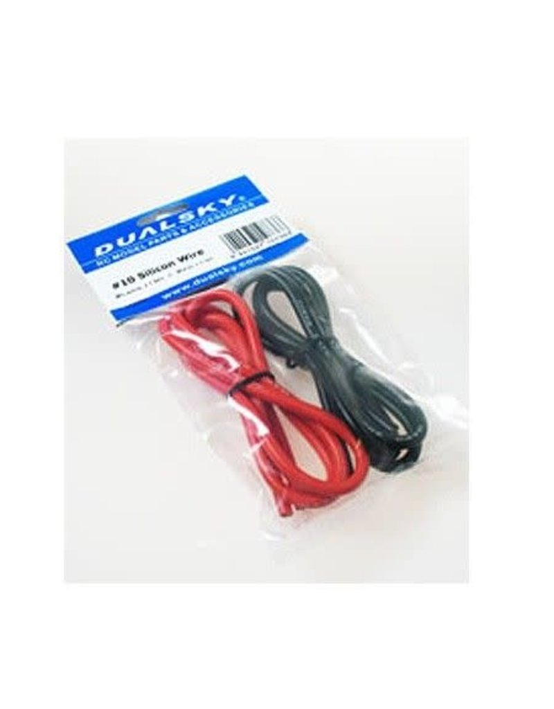 Dualsky Dualsky red and black 16G silicon wire (1 metre each)